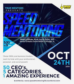 True Mentors Speed Mentoring 2019