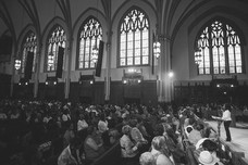 Preaching in front of a crowd at St_edit