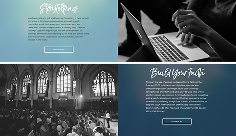 773Designs - Jocelyn J.Jones Website Case Study