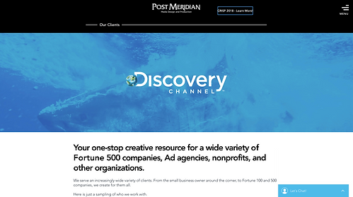 773Designs - Post Meridan Website Case Study