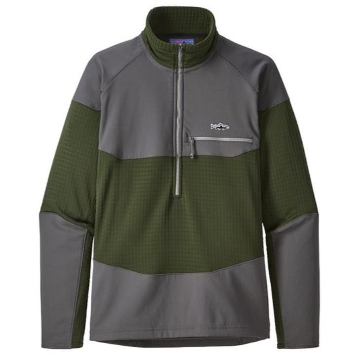 Patagonia Long-Sleeved R1 Fitz Roy ¼ Zip Top