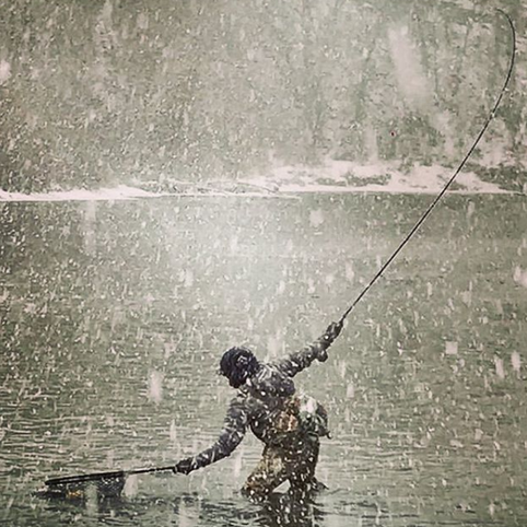 Guide to Winter Dry Fly Fishing