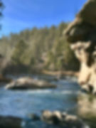 Fall day on the South Platte in Deckers