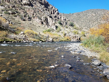 Picture of Clear Creek in Clear Creek Canyon
