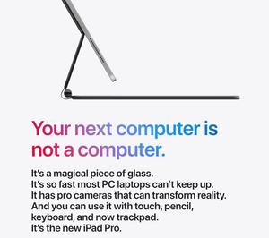 iPad Pro ad