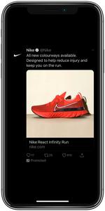 Nike Twitter Ad
