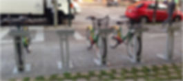 exemple de vélos en libre service