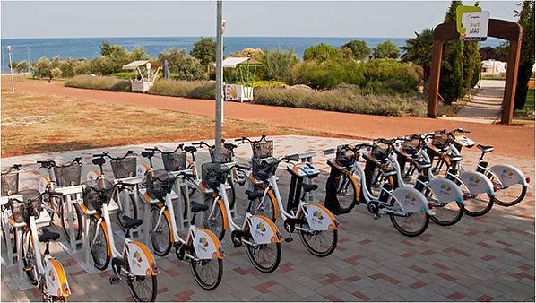 vélos en libre service pour les collectivités