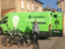 location vente vélo Lyon, bornes de recharge
