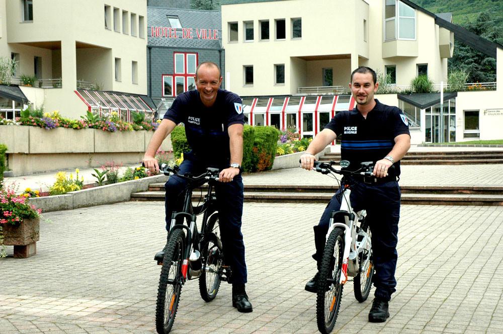 VTT électrique Police Montmélian