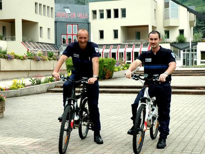 VTT électriques pour Police Municipale