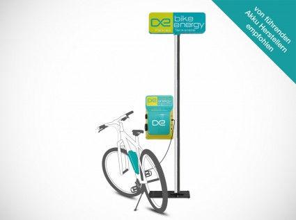 borne de recharge vélo électrique - installation sur poteau - Cycletic