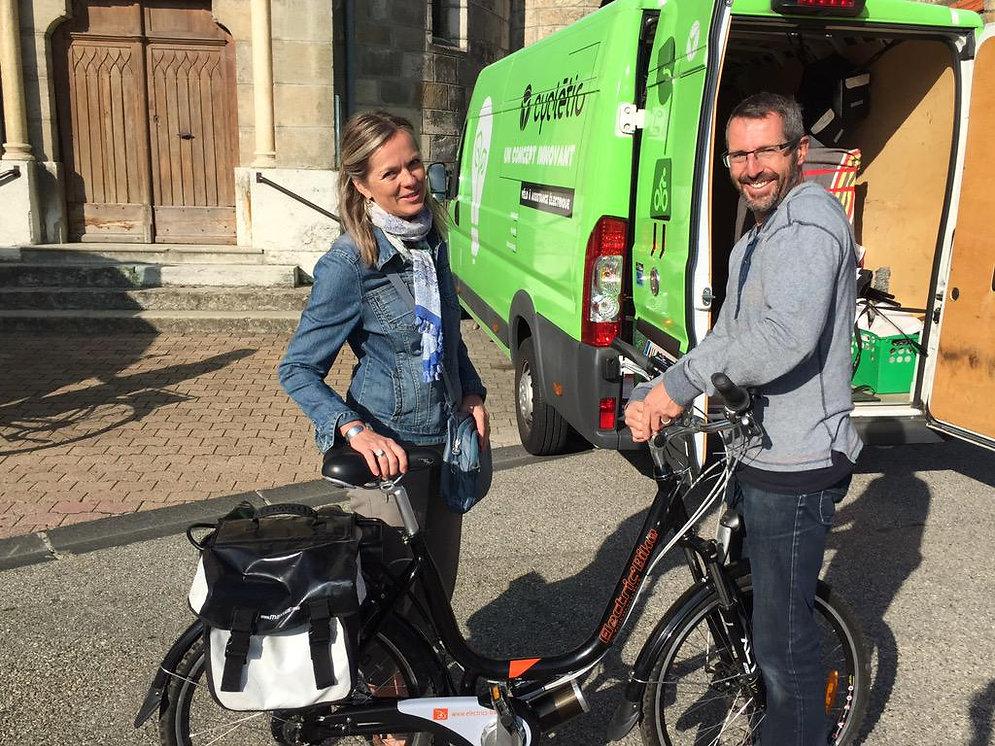 location vélo et vélo électrique lyon ViaRhôna