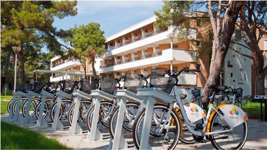 vélos en libre service pou hôtels, résidences de tourisme ou collectivités