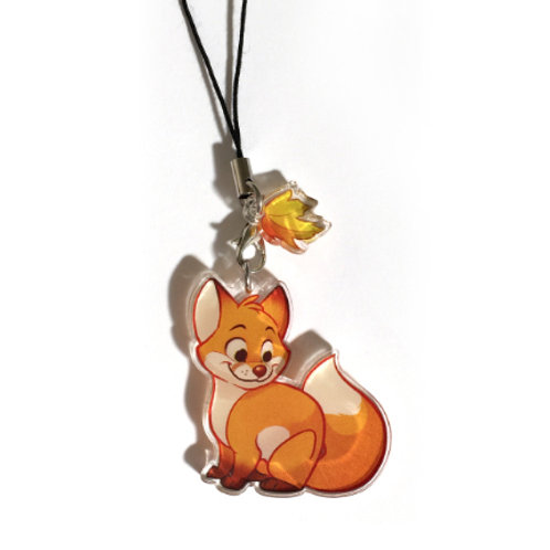 Forest Friends Fox Charm