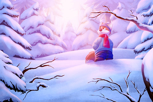 Winter Wonderland Signed Print
