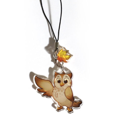 Forest Friends Owl Charm