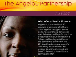 The Angelou Partnership - April 2017 Flyer