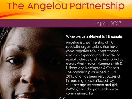 The Angelou Partnership - April 2017 Flyer