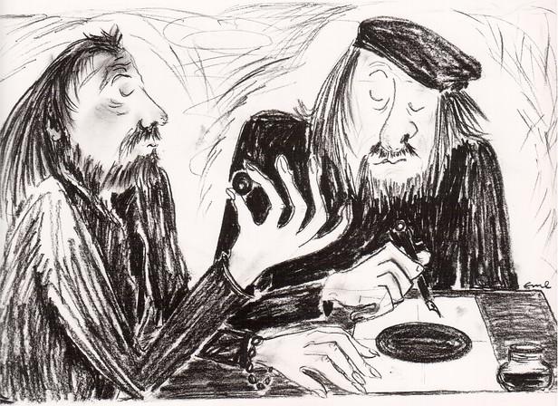Künstler im Gespräch