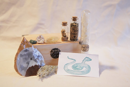Snake Magic Altar Witch Box
