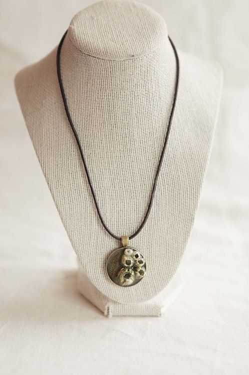 Real Baranacle Pendant Necklace