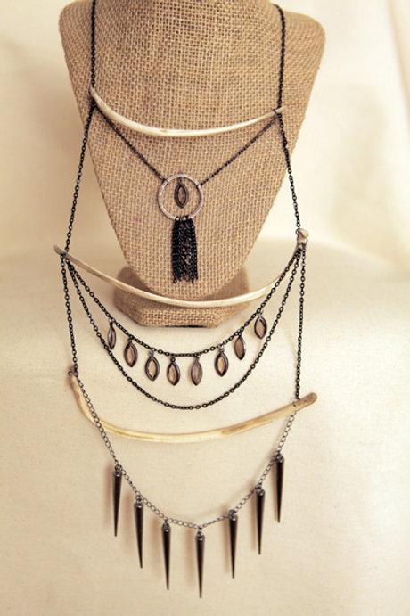 Deer Rib Bone Necklace