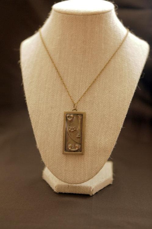 Baby Rabbit Bone Pendant Necklace