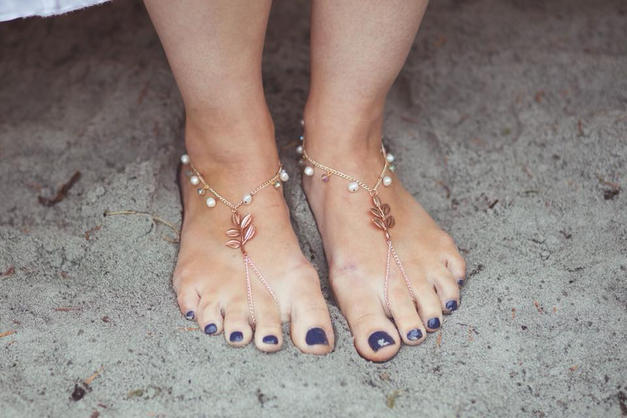 Bridal Bottomless Shoes