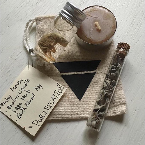 Purification Witchcraft Bag