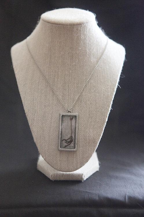 Bird Claw Pendant Necklace