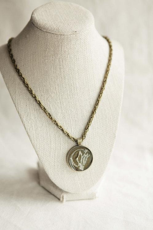 Sea Fan Pendant Necklace