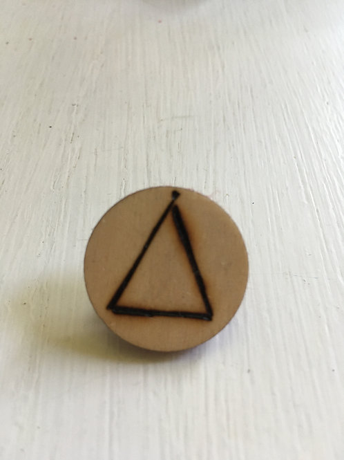 Element Pin: Earth-Air-Fire-Water