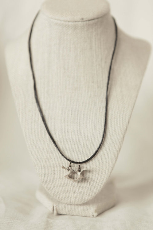 Raccoon Vertebrae Necklace