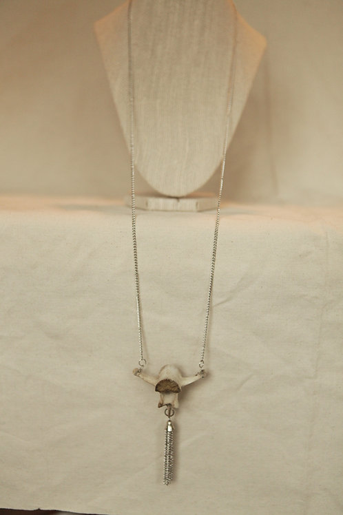 Deer Vertebrae Necklace