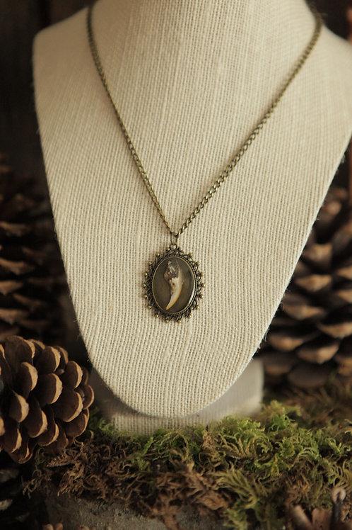 Squirrel Claw Pendant Necklace