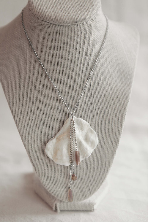 Real Oyster Shell Necklace