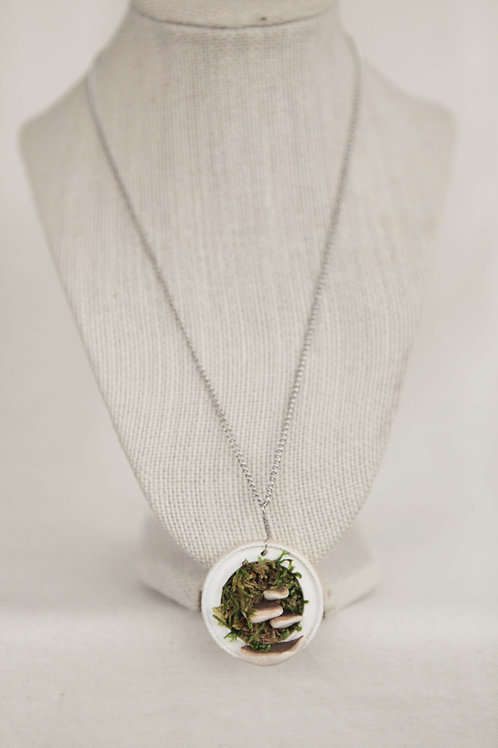 Conk & Picture Frame Necklace