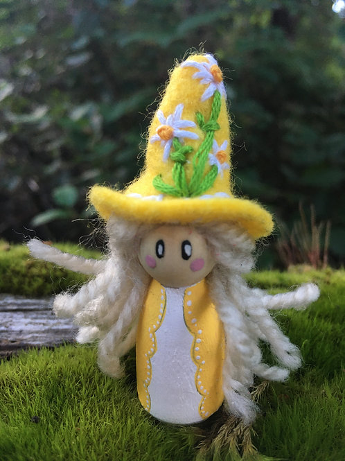 Yellow Witch Doll