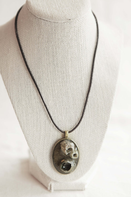 Real Barnacle Pendant Necklace
