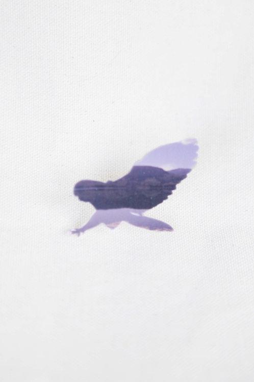 Hawk Silhouette Pin