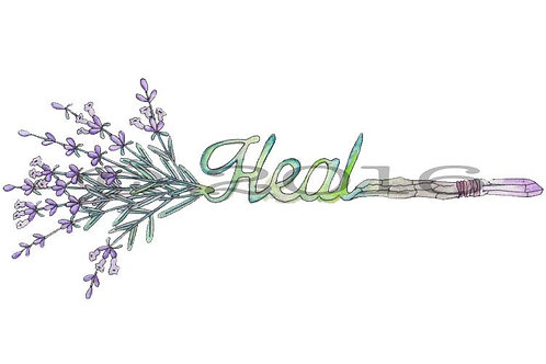 Heal Arrow Art Print