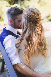Bridal Hair Circlet