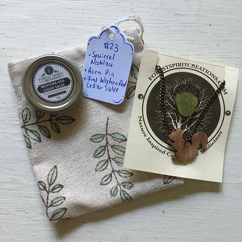 Squirrel Gift Bag