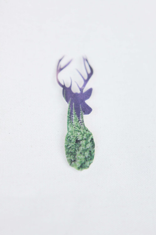 Deer Silhouette Pin