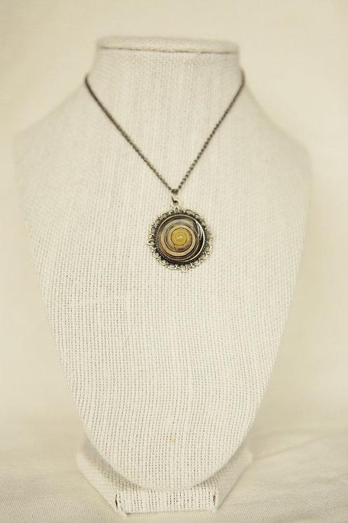 Garden Snail Shell Necklace