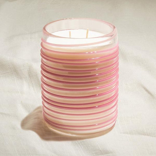 Femininity - Raspberry Large Swirl Candle