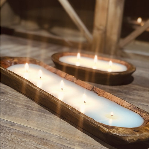 Dough Bowl 5 Wick Candle-Currant Thyme