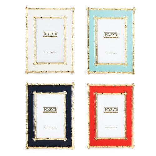 Brynn Gold Bamboo Frame