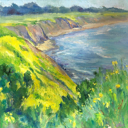 Yellow Meadow by Dorene White